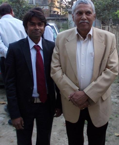 With Dr. Dilip Kumar (Ex-VC, CIFE Mumbai )