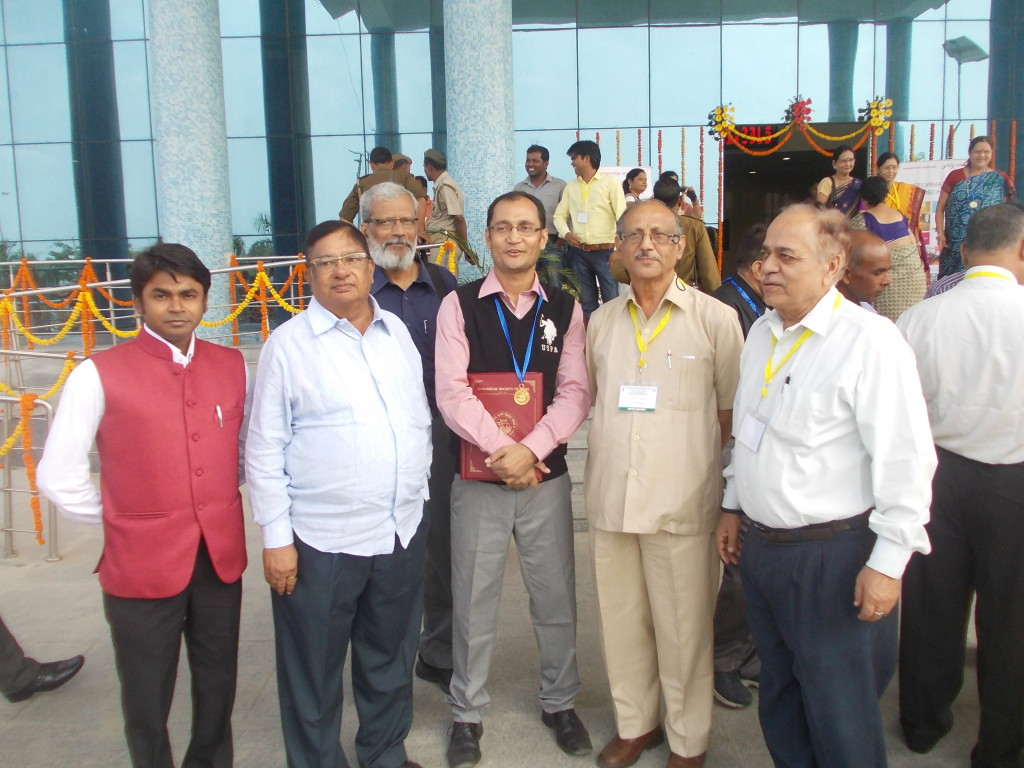 With Dr. B. C. Jha (NFDB Hyderabad), Dr. B. D. Joshi (GKU Haridwar) and others.