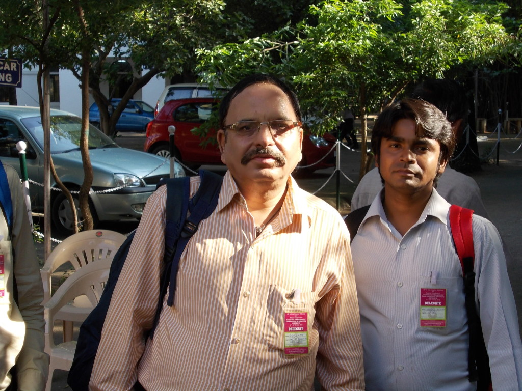 With Dr. V. K. Matto (Shimla).