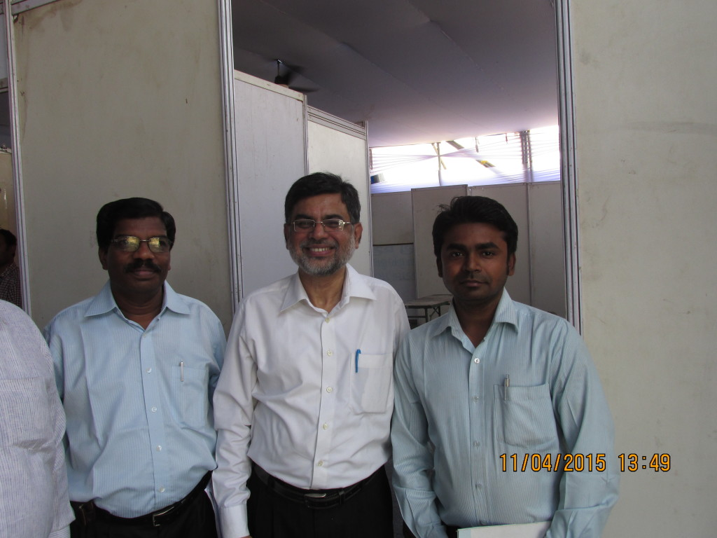 With Dr. Paul Pandian and Others